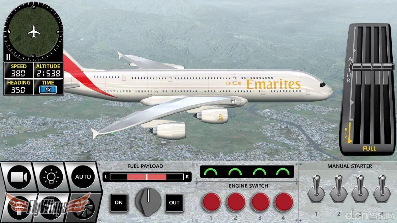 简介 《模拟飞行2016 Flight Simulator 2016》是一款模拟飞行游戏,游戏中玩家可以驾驶各种各样的飞机在空中穿梭,并完成各式各样的任务。游戏中有自由飞行模式和职业生涯模式。游戏内置了几十种空客和战斗机,让玩家能够过一过当机长的瘾~