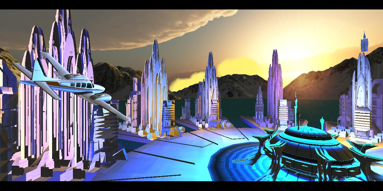 模拟飞行VR图3