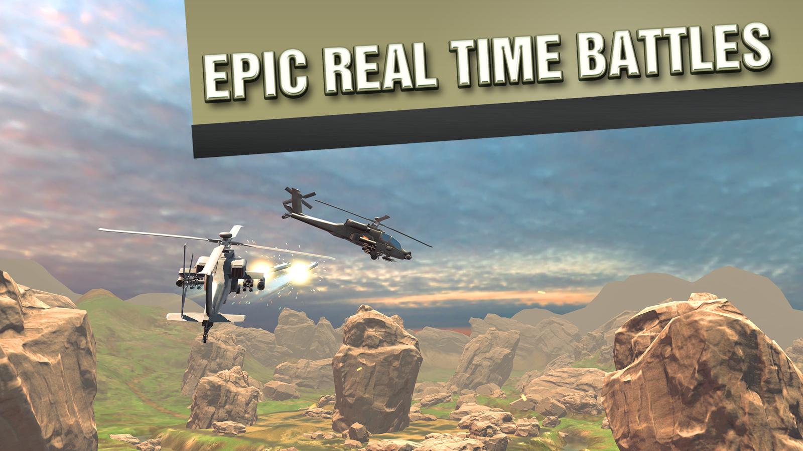 直升机战争VR图1