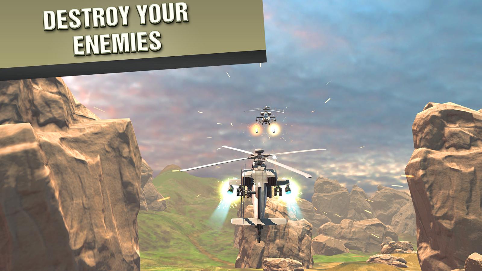 直升机战争VR图2