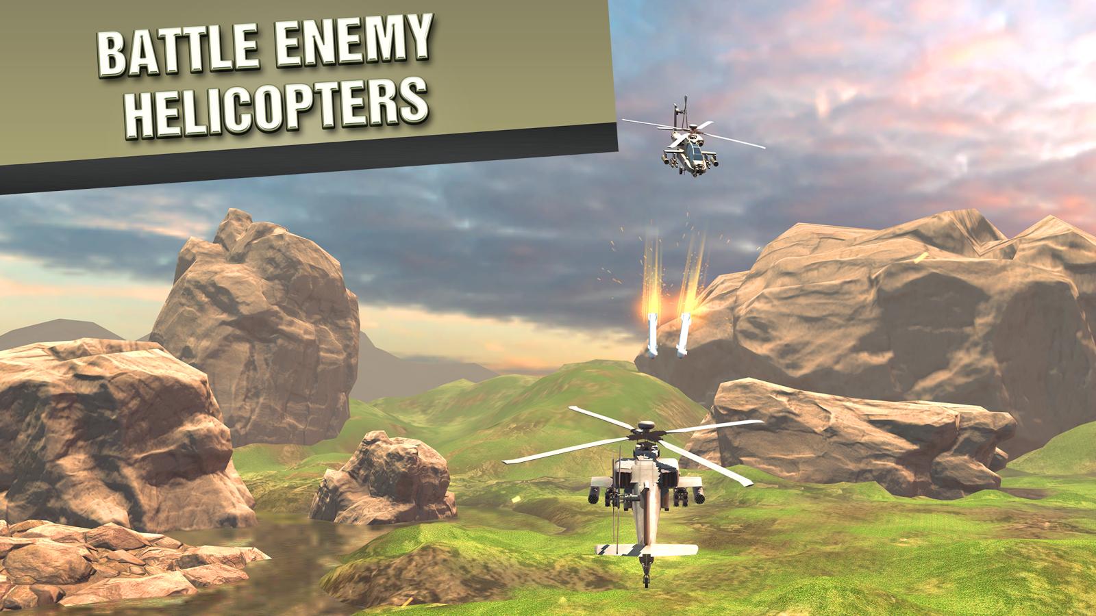 直升机战争VR图3