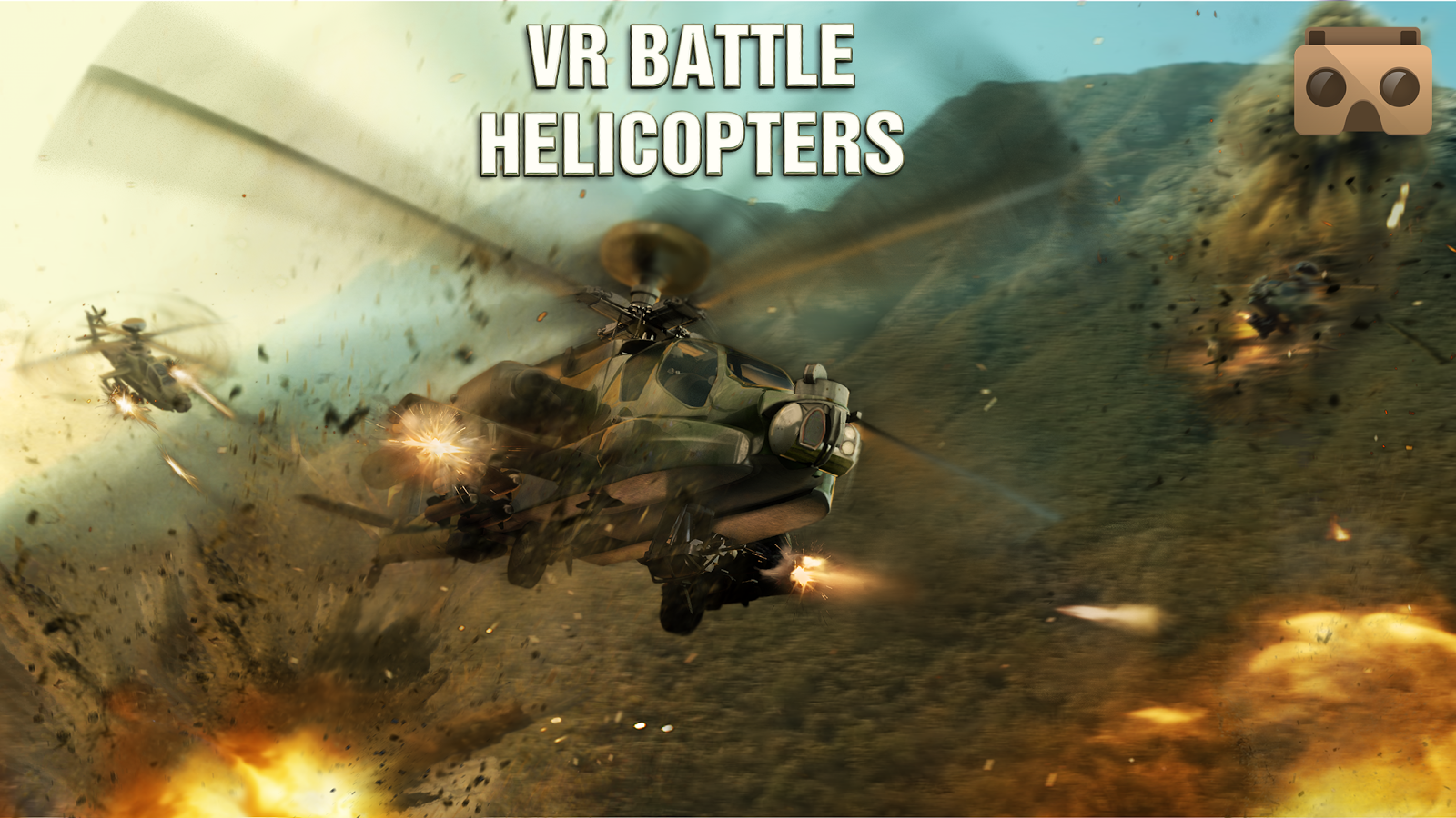 直升机战争VR图4