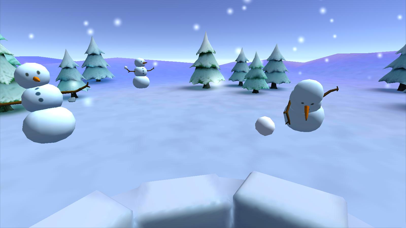 打雪仗VR精简版图2
