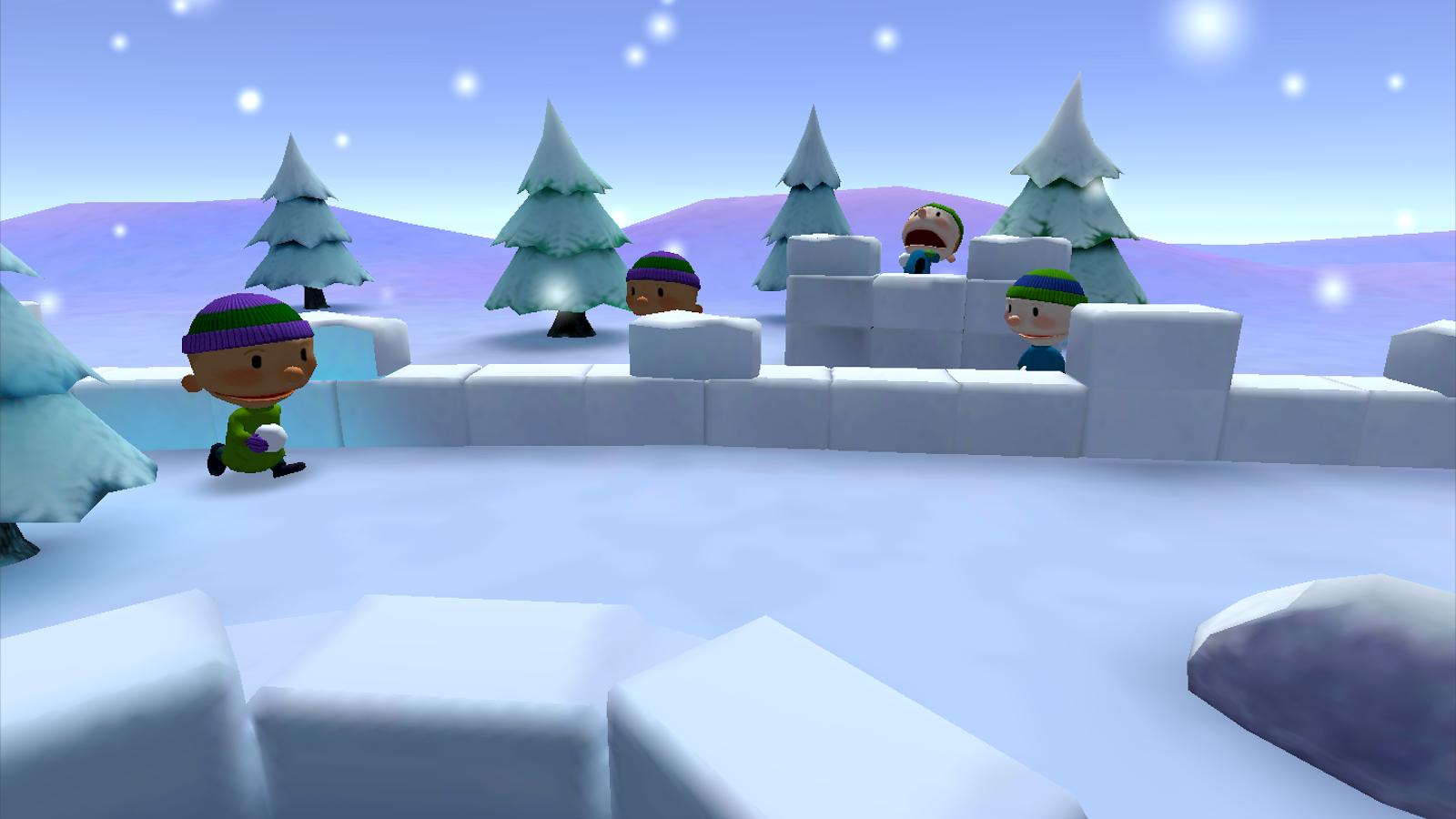 打雪仗VR精简版图5