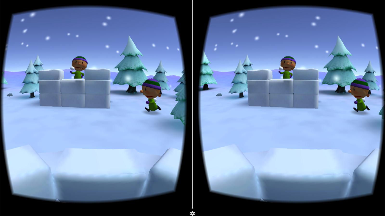 打雪仗VR精简版图6